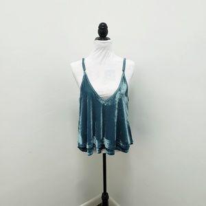 TOBI Velvet Camisole